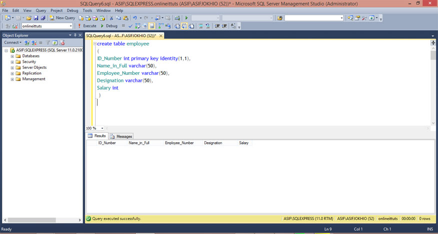 Create-a-Table-in-SQL-Server