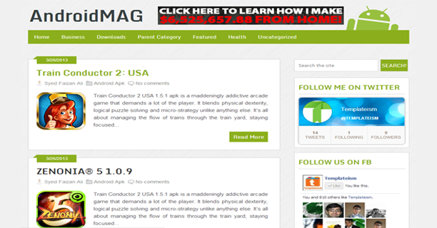 AndroidMag-Blogger-Template-Free