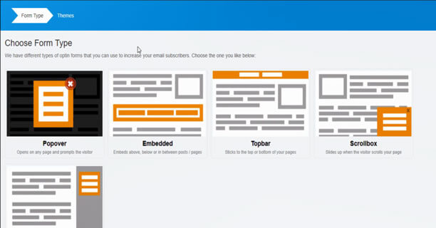 Select-Popup-Form-Template